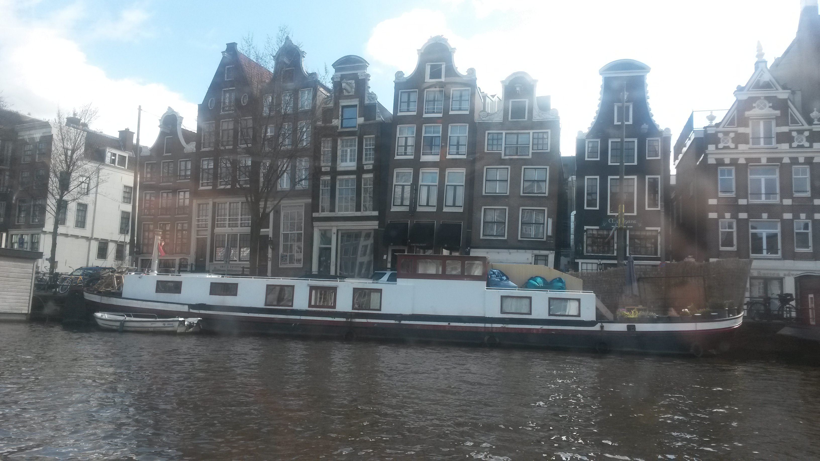 Tilting houses on the canals  because of decaying stilts - Eeek!